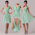 CHEAP FREE SHIP~ Formal Cocktail Wedding Bridesmaid Homecoming Prom Party Dress