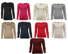 Girls Kids Children New School Gym Crew Neck Plain Long Sleeve Top T-Shirt 7-13