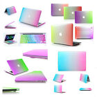 "Rainbow Rubberized Case & Keyboard Cover for Macbook Air 11/13"" Pro 13/15"" inch"