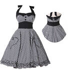 ❤New Stock❤50s 60s ROCKABILLY VINTAGE PINUP RETRO SWING EVENING PROM PARTY DRESS