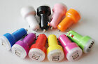 Lot  2A LED CAR chargers dual usb FOR apple iphone 6 4 4s 5 ipod mp3 galaxy s5