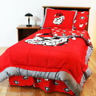 Georgia Bulldogs Comforter Shams Bedskirt Sheet Set Twin Full King