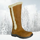 Brasher Womens Kitale Leather Zipped Insulated Waterproof Winter Boots - New