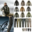 Mens' Military Waterproof/Windproof Outdoor Carmpin Jacket Soft Shell Coat Pants
