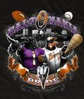 New Baltomania Ravens Orioles Birds with Baltimore City Background T-Shirt on Ebay