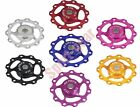 Bearing Jockey Wheel 11T Aluminium Lightest CNC Pulley MTB Road Bike (10Colours)
