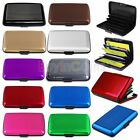 Pocket Waterproof Business Glossy Candy ID Credit Card Wallet Holder Case HFUK