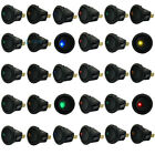 20pcs 12V Car Boat LED Dot light 3 Pin Round Rocker ON/OFF Toggle SPST Switch