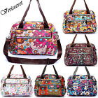 Women's Shoulder Hobo Tote Bags Messenger Crossbody Travel bag Waterpoof Cartoon