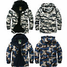 South Play 2015 Men's Waterproof Ski-Snowboard White & Blue Military Suit Jacket