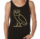 Drake OVO Gold Owl October's Very Own Hip Hop Festival Illuminati Singlet Tank
