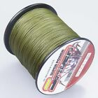 Spider 100-2000m 10LB ~ 300LB 100%PE Army Green Braid Fishing line/Agepoch line