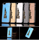 """3D Statue of Liberty Chrome Back Hard Case Cover For Apple iPhone 6 - 4.7"""" inch"""