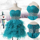 Short Party Bridesmaids/ Homecoming / Graduation Prom Formal Girl Dress Gown ys