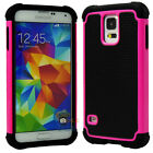 Shockproof Dirt Proof Hybrid Rubber Hard Case Cover for Samsung Galaxy S5 G900