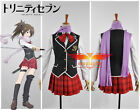 Trinity Seven Kazama Revi School Uniform Cosplay Costume Any Size
