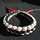 Hand Made Braided Shoelace Bracelet Wristbands for Air Jordan and Famous teams on Ebay