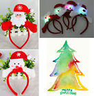Light Up Christmas Decoration Hair Band Headband Christmas Party Props Costume