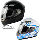 Nitro DYNAMO Junior Kids Full Face Motorcycle Motorbike Helmet Pinlock Ready