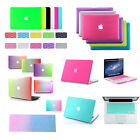 "2in1》Rainbow Styles Rubberized Hard Case Cover for Macbook Air Pro 11""13""15""inch"