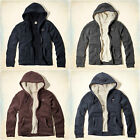 HOLLISTER MEN`S SHERPA LINED HOODIE NEW SIZES S , M , L , XL