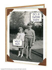 Brainbox Candy Rude black and white picture funny greetings/birthday card Edith