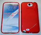 S Line Wave Case for Samsung S3, S4, Note 2 3 LG G2, iPhone 5c Lot of Colors