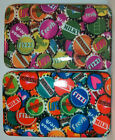 # New Collectors Bottle Cap Opera Flat Frame Hard Case Style Clutch Wallet nwt