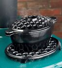 3 QT. Cast Iron Lattice Wood Stove Steamer