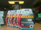 MAXIMA CHAMELEON RED 'ONE SHOT' SPOOLS CARP AND COURSE FISHING LINE ' M H TACKLE