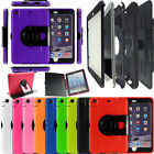 360 Rotate Hybrid Tough Waterproof Life Shock Proof Smart Case Cover for Tablets