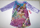 Nwt New Disney Princess Nightgown Pajamas Velvet Dream Big Purple Cute Nice Girl