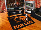 """Oregon State Beavers Man Cave Area Tailgate Rugs 3 Sizes 34"""" x 44"""" 5'x6'  5'x8'"""
