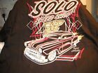 Solo Speed Shop 1950's Chevy Chevrolet Kustom Custom t shirt size XXX
