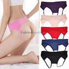 V1NF Sexy G-string Panties Thongs Lingerie Open Crotch Underwear Women Ladies