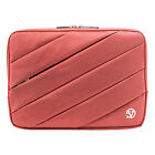 Nylon Dual Padded Sleeve Pocket Carry Pouch Case Cover For LG Tablet G Pad 10.1'