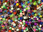 LOT!!! Colorful Ball Tongue Nipple Bar Ring Barbell Body Jewelry Piercing