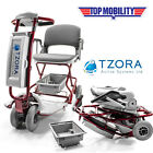 Tzora Classic Lexis Light Folding Electric Mobility Travel Scooter Lightweight