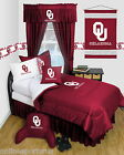 Oklahoma Sooners Comforter & Sham Twin Full Queen