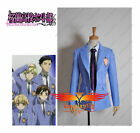 [In Stock] Japanese Anime Ouran High School Host Club Jacket And Tie Cosplay