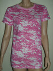 Womes Plus Size Pink Digital Cammo Top by Rothco in Large,XL or 2X