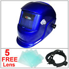 Leopard Auto Darkening Welding Helmet Mask Welders Grinding Mode Solar Power BLK