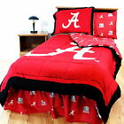 Alabama Crimson Tide Comforter and Sham Twin to King Size Reversible