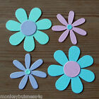 Flower Die Cuts - Flowers - 2 different designs - Topper - Party - Favour
