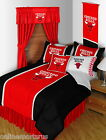 Chicago Bulls Comforter Shams Bedskirt Valance Twin to King Size Sets