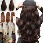 Extra Thick Clip In Hair Extensions Half Full Head Clip In Hair Extensions n87