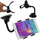 Universal Flexible Rotate View Car Mount Holder Clip For Mobile Phone GPS MP3
