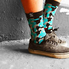 Socks by Spirit of 76 | the turquoise Camos Lo | Camo Tubesocks