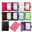 Folio Leather Smart Case Cover Auto Wake / Sleep for New Amazon Kindle Paperwhite