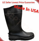"14"" Mens Waterproof Rubber Rain Boots Work Safety Boots Acidproof Alkaliproof"